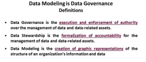 Webinar - Data governance - definition slide